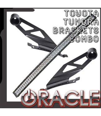 "Oracle Lighting 2007-2014 Toyota Tundra ORACLE Curved 50"" LED Light Bar Brackets + Light Combo"