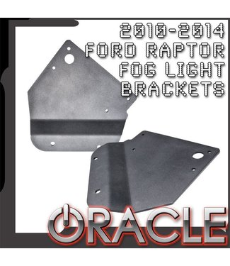 Oracle Lighting ORACLE Ford Raptor 2010-2014 Fog Light Replacement Brackets (Pair)