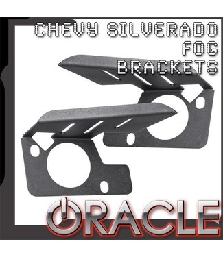 Oracle Lighting 2007-2013 Chevy Silverado LED Fog Light Replacement Brackets
