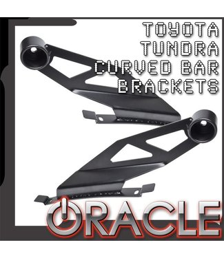"Oracle Lighting 2007-2014 Toyota Tundra ORACLE Curved 50"" LED Light Bar Brackets"