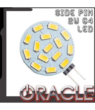 Oracle Lighting ORACLE Dimmable 2W Side Pin G4 LED Replacement Bulb