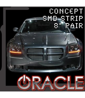 "Oracle Lighting ORACLE ""Concept"" LED Strips - (8"" Pair)"