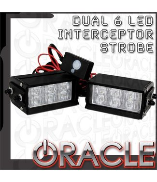 Oracle Lighting ORACLE Dual 6 LED Undrcover Strobe Light