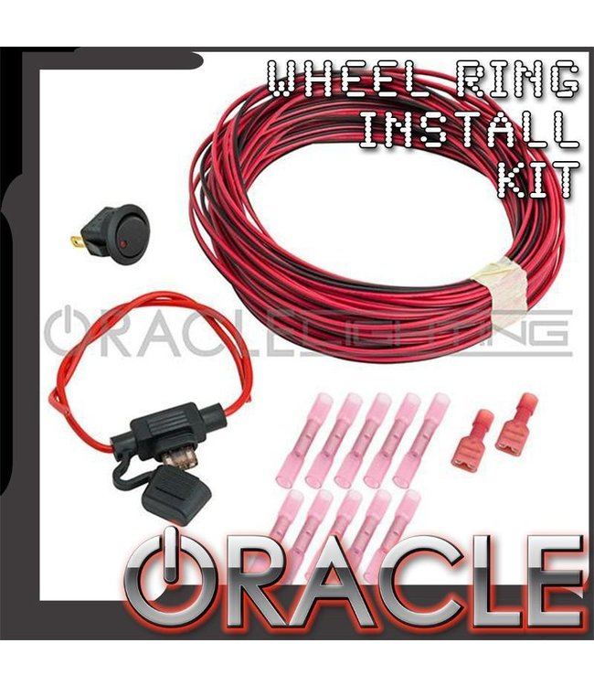 Oracle Lighting ORACLE Wheel Ring Installation Kit - Single Color