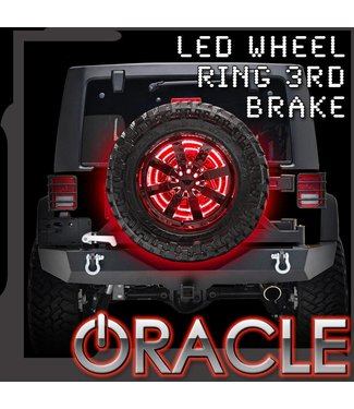 Oracle Lighting ORACLE LED Illuminated Spare Tire Wheel Ring Third Brake Light