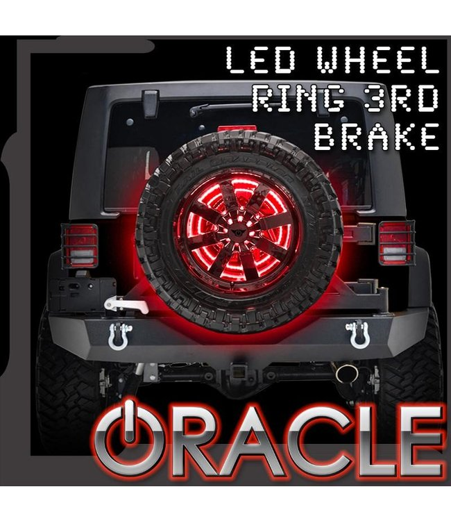 Oracle Lighting ORACLE LED Illuminated Spare Tire Wheel Ring Third Brake Light