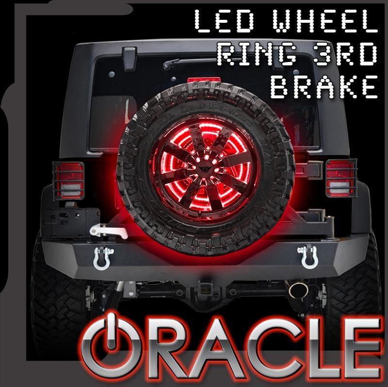 Oracle Led Illuminated Spare Tire Wheel Ring Third Brake Light