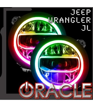 Oracle Lighting Jeep Wrangler JL ORACLE ColorSHIFT RGB+W DRL Upgrade