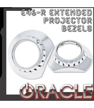 Oracle Lighting ORACLE E46-R Extended Projector Bezels (Pair)