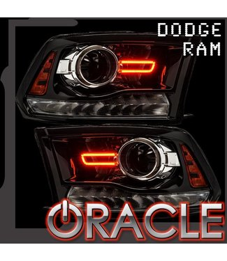Oracle Lighting 2013-2018 Dodge Ram Projector Style ORACLE SMD Concept Kit