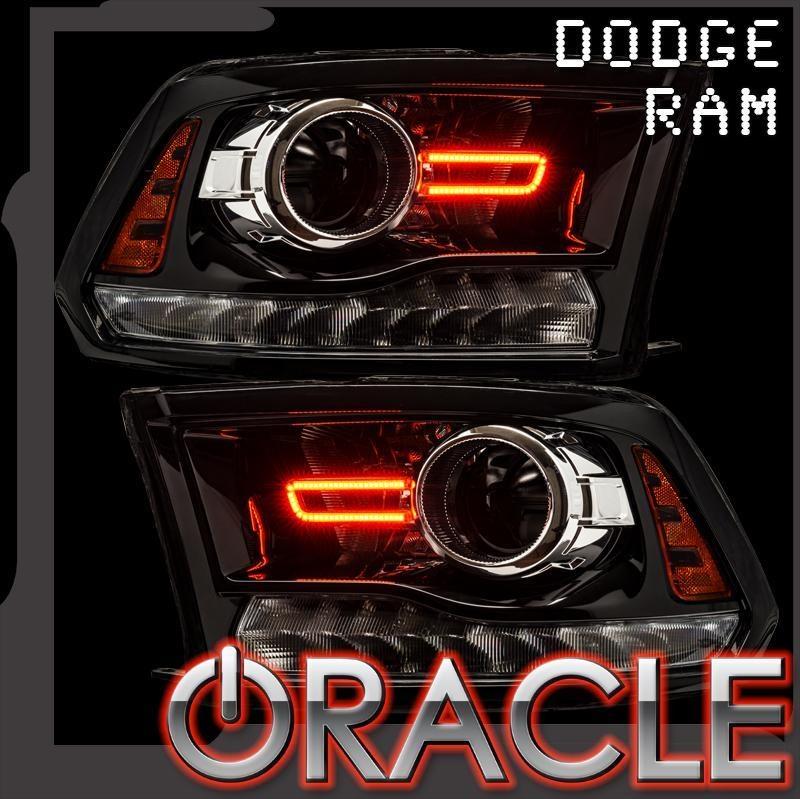 2017 2018 Dodge Ram Projector Style