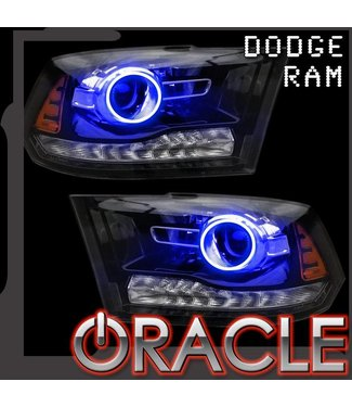 Oracle Lighting 2013-2018 Dodge Ram 1500/2500 Projector Style ORACLE Halo Kit