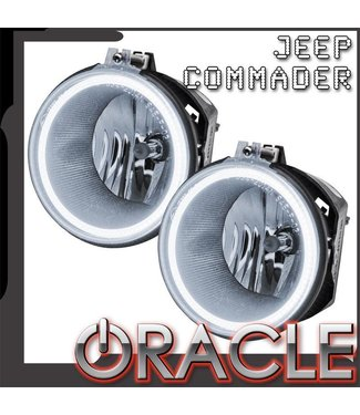 Oracle Lighting 2006-2010 Jeep Commander Pre-Assembled Fog Lights