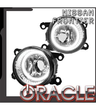 Oracle Lighting 2005-2016 Nissan Frontier Pre-Assembled Fog Lights - (Chrome Bumper)