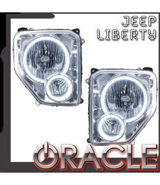 Oracle Lighting 2008-2012 Jeep Liberty Pre-Assembled Head Lights
