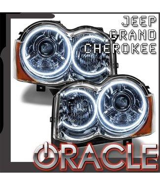 Oracle Lighting 2008-2010 Jeep Grand Cherokee Pre-Assembled Head Lights - (HID)