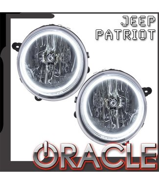 Oracle Lighting 2007-2016 Jeep Patriot Pre-Assembled Head Lights