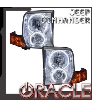 Oracle Lighting 2006-2010 Jeep Commander Pre-Assembled Head Lights