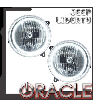 Oracle Lighting 2002-2004 Jeep Liberty Pre-Assembled Head Lights