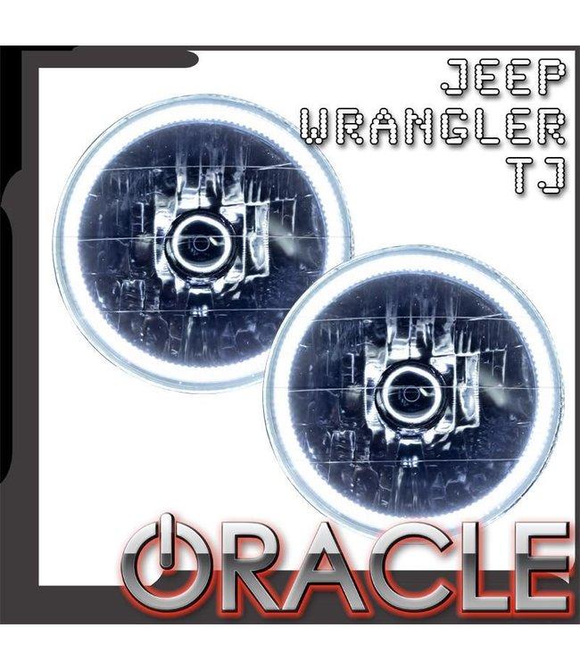 Oracle Lighting 1997-2006 Jeep Wrangler TJ Pre-Assembled Head Lights