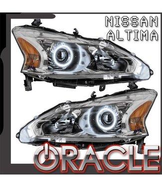Oracle Lighting 2013-2015 Nissan Altima Sedan Pre-Assembled Head lights - (Halogen)