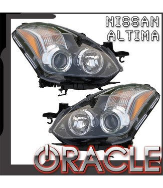 Oracle Lighting 2010-2012 Nissan Altima Coupe Pre-Assembled Head Lights