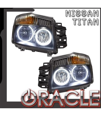 Oracle Lighting 2008-2015 Nissan Titan Pre-Assembled Head Lights