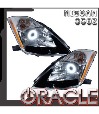 Oracle Lighting 2003-2005 Nissan 350Z Pre-Assembled Head Lights - (HID Style)
