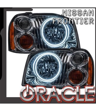 Oracle Lighting 2001-2004 Nissan Frontier Pre-Assembled Head Lights - Dual Halo