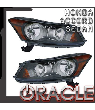 Oracle Lighting 2008-2012 Honda Accord Sedan Pre-Assembled Head Lights