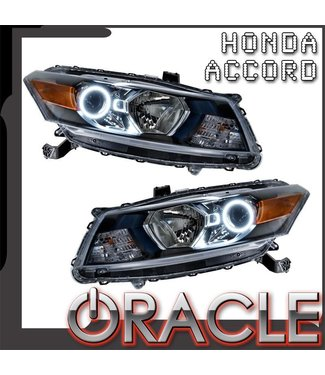 Oracle Lighting 2008-2012 Honda Accord Coupe Pre-Assembled Head Lights