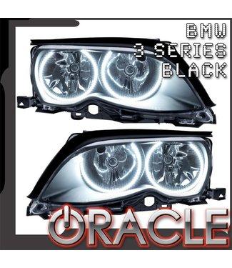 Oracle Lighting 2002-2005 BMW 3 Series Pre-Assembled Head Lights - Black