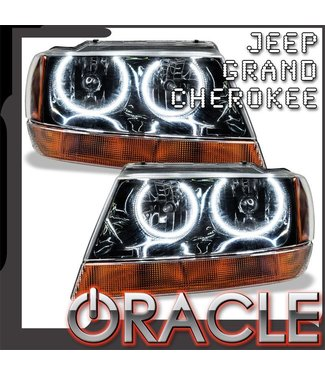Oracle Lighting 1999-2004 Jeep Grand Cherokee Pre-Assembled Head Light - Black
