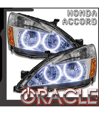 Oracle Lighting 2003-2007 Honda Accord Coupe/Sedan Pre-Assembled Head Lights