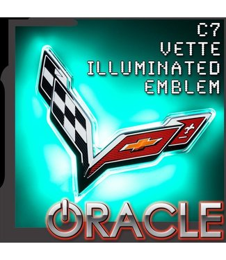 Oracle Lighting ORACLE Chevy Corvette C7 Rear Illuminated Emblem