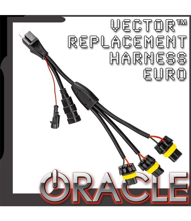 Oracle Lighting ORACLE Vector Replacement Headlight Wiring Harness on