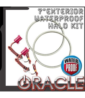 "Oracle Lighting Universal 7"" Round Exterior Waterproof LED Halo Kit"