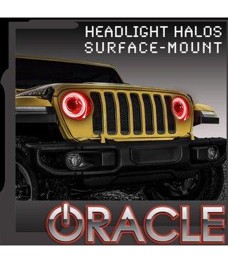 Oracle Lighting 2018-2019 Jeep Wrangler JL ORACLE Head Light Halo Kit - Waterproof