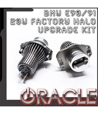Oracle Lighting ORACLE BMW E90/91 20W Cree Factory Halo Upgrade Kit