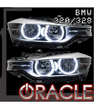 Oracle Lighting 2012-2013 BMW 320/328 ORACLE Halo Kit