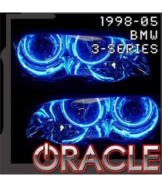 Oracle Lighting 1998-2004 BMW 3 Series (E46) ORACLE Halo Kit