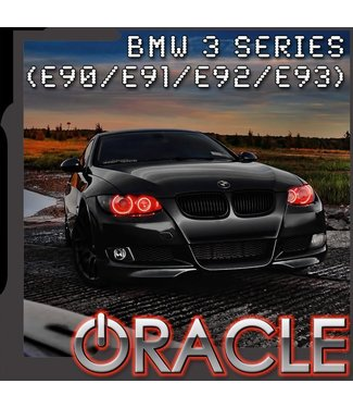 Oracle Lighting 2006-2011 BMW 3 Series (E90/E91/E92/E93) ORACLE Halo Kit