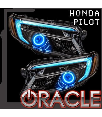 Oracle Lighting 2016-2018 Honda Pilot ORACLE ColorSHIFT Halo + DRL Kit