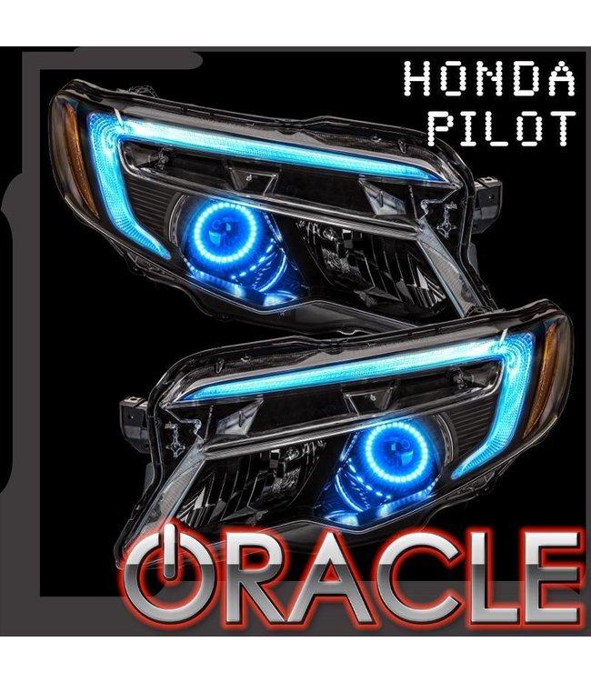 Oracle Lighting 2016-2018 Honda Pilot ORACLE ColorSHIFT Halo + DRL Kit