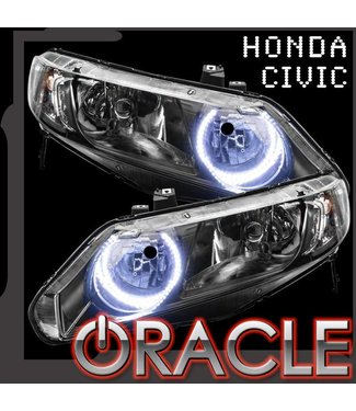 Oracle Lighting 2006-2011 Honda Civic Sedan 4DR ORACLE Halo Kit