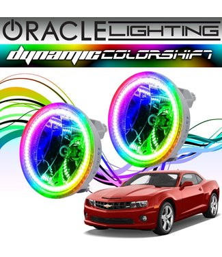 Oracle Lighting 2010-2013 Chevrolet Camaro  ORACLE Dynamic ColorSHIFT Fog Light Halo Kit