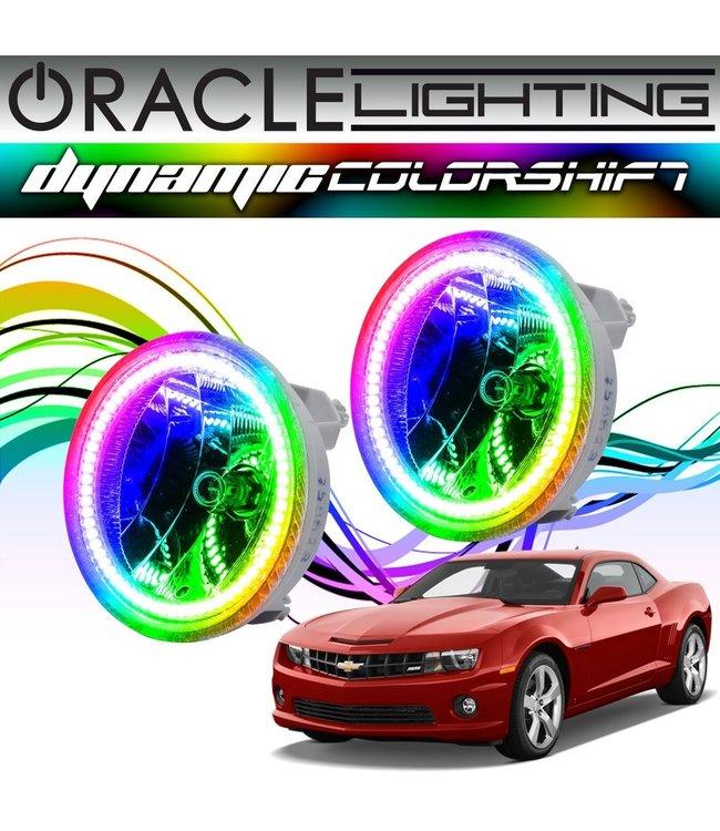 Oracle Lighting 2010-2013 Chevrolet Camaro  ORACLE Dynamic ColorSHIFT Fog Light Halo Kit