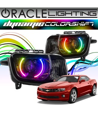 Oracle Lighting 2010-2013 Chevrolet Camaro ORACLE Head Light Halo Kit - Dynamic ColorSHIFT