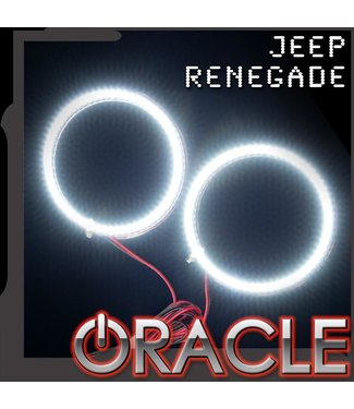 Oracle Lighting 2015-2018 Jeep Renegade ORACLE Fog Light Halo Kit