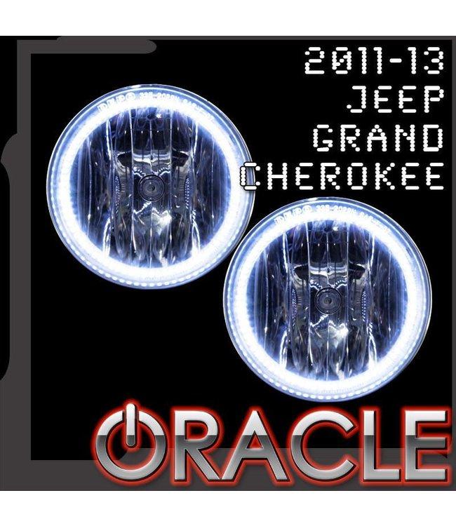 Oracle Lighting 2011 2013 Jeep Grand Cherokee Oracle Fog Light Halo Kit